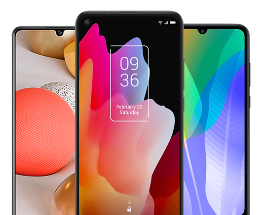 TCL 10L, Samsung Galaxy A42 5G and Huawei Y6P up to €100 off when you switch to Vodafone payg www.kelco.ie