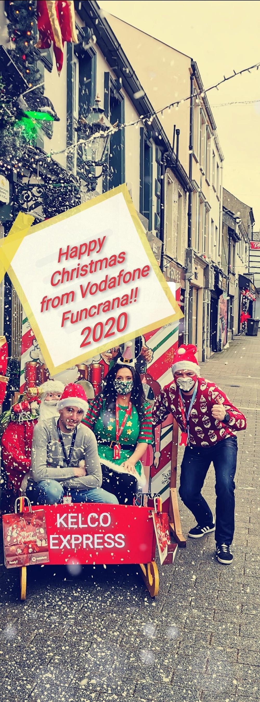 Kelco Buncrana Team on Christmas Jumper Day