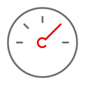 grey and white clock icon.png