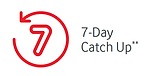 vodafone red 7 day catch up icon