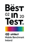 Umlaut best in test 2020 award badge.png