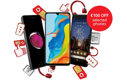 Vodafone payg offers sim card Apple Iphone 7 Huawei p30 lite Google pixel 3a.png.png