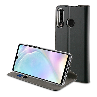Black Muvit Folio Stand Case for Huawei P30 Lite.png
