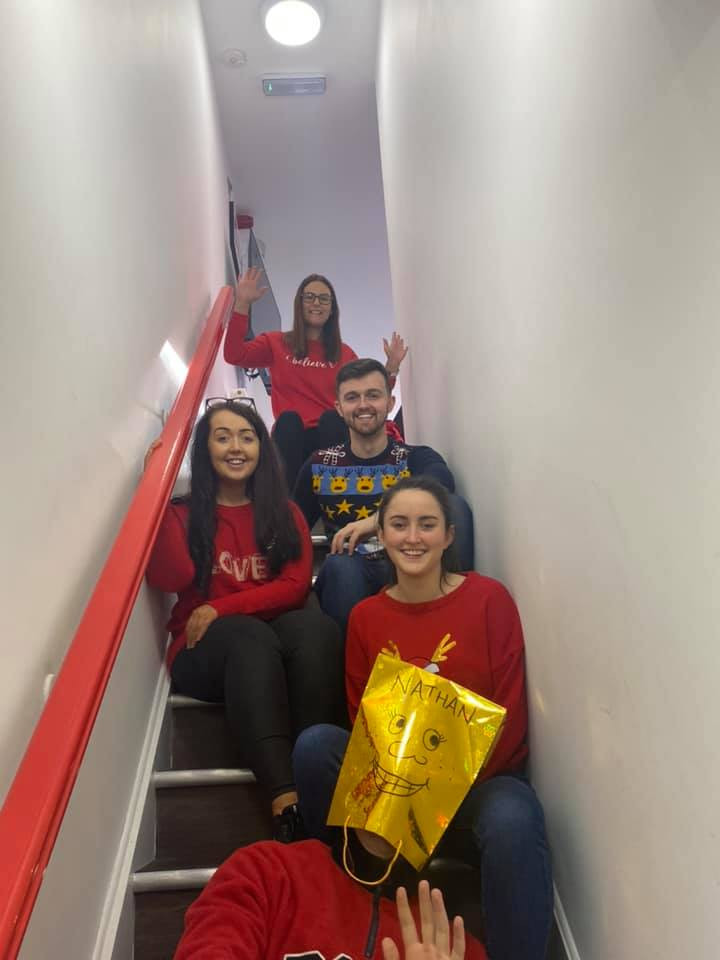 Christmas Jumper Day in Kelco Call Centre
