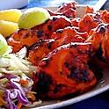Chicken tikka, dal makhani