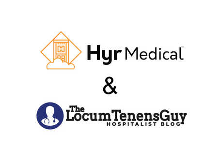 Hyr Medical Partners with The Locum Tenens Guy Blog