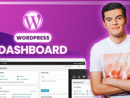 WordPress Dashboard Tutorial + How To Modify WordPress Settings - WordPressTutorial 2020 #2