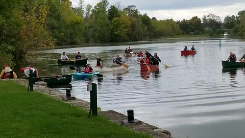 Our 2019 Voyageur Canoe Trip and Rendezvous