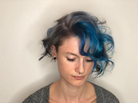 Lisa Blue and Silver Hair.JPG