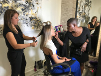 Model Makeup and Hair Alex Provenzano Salon. Makeup by Rashida, Hair by Ana Picco