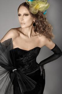 Francisco Casals FW15. Makeup by Rashida