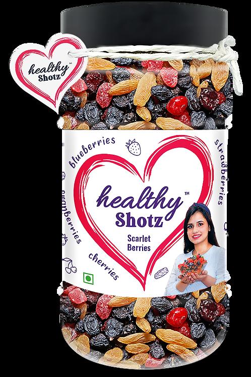 Scarlet Berries | Helps Reduce Skin Wrinkles| 5+ Varieties of Dried Fruits