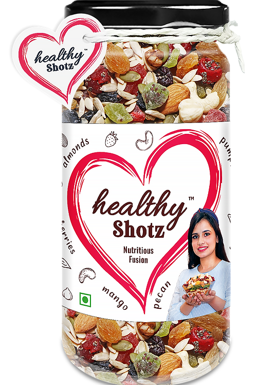 Nutritious Fusion | Brazil Nuts, Pista and Black Raisin Combo Mixed Seeds