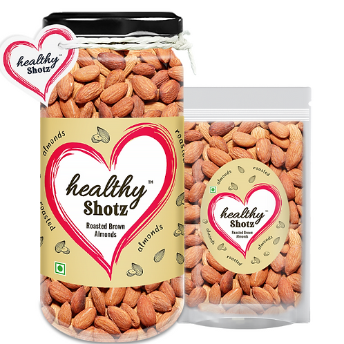 Roasted Brown Almonds