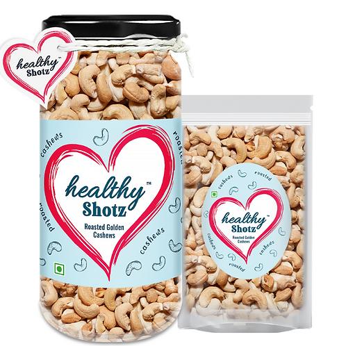 Roasted Golden Cashews Combo | 100% Natural | Immunity-Boosting Dry Fruit |