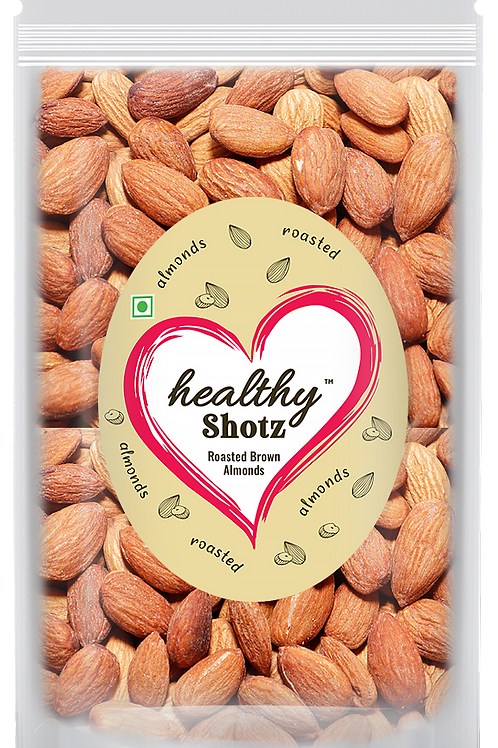 Roasted Brown Almonds REFILL   Immunity Boosting Dry Fruit