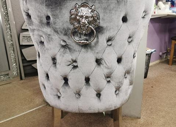 Lewis Dining Silver Chair