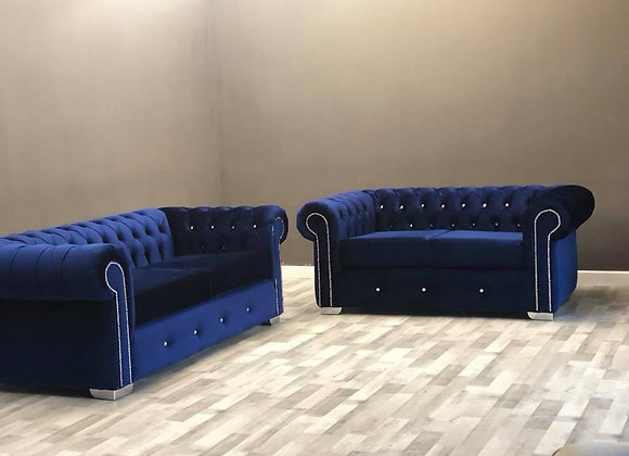 Chesterfield Deluxe 3plus2 Sofa