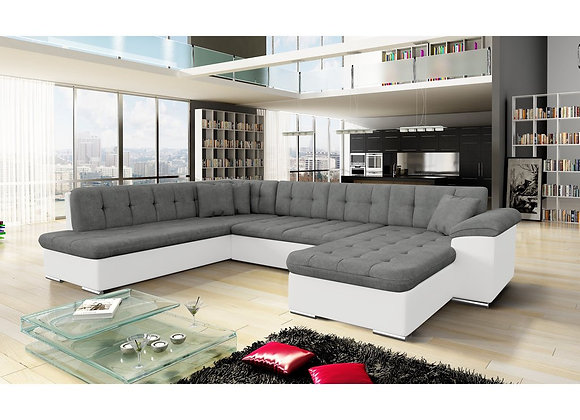 Scafati Fabric Corner Sofabed