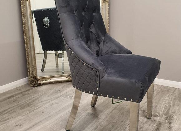 Duke Chair lion knocker