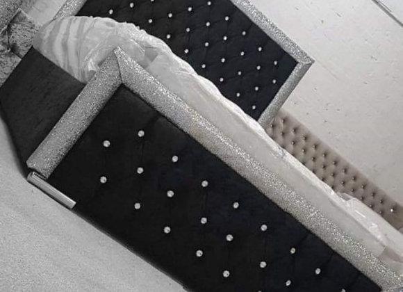 Glitter Bed