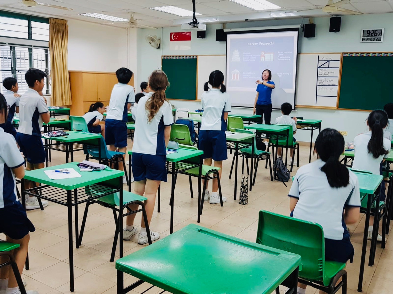 Ngee Ann Primary Healthcare Career Talk 2018