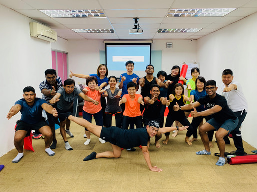 WCH Scaffolding Wellness Talk 2019