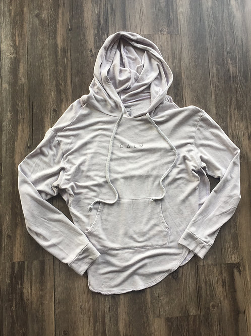 good hYOUman CALM Hoodie with open racer back