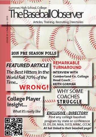 February 2015 Issue - The Baseball Observer