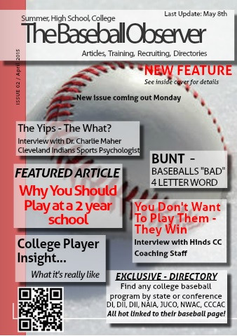 April 2015 Issue - The Baseball Observer