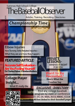 June 2015 Issue - The Baseball Observer