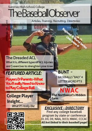 May 2015 Issue - The Baseball Observer