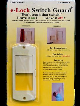 Decora Almond Light Switch Guard