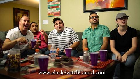 e-Lock Switch Guard Keeps TV On
