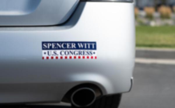 Campaign political Bumper sticker