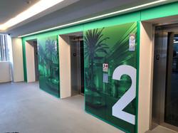 company wall art