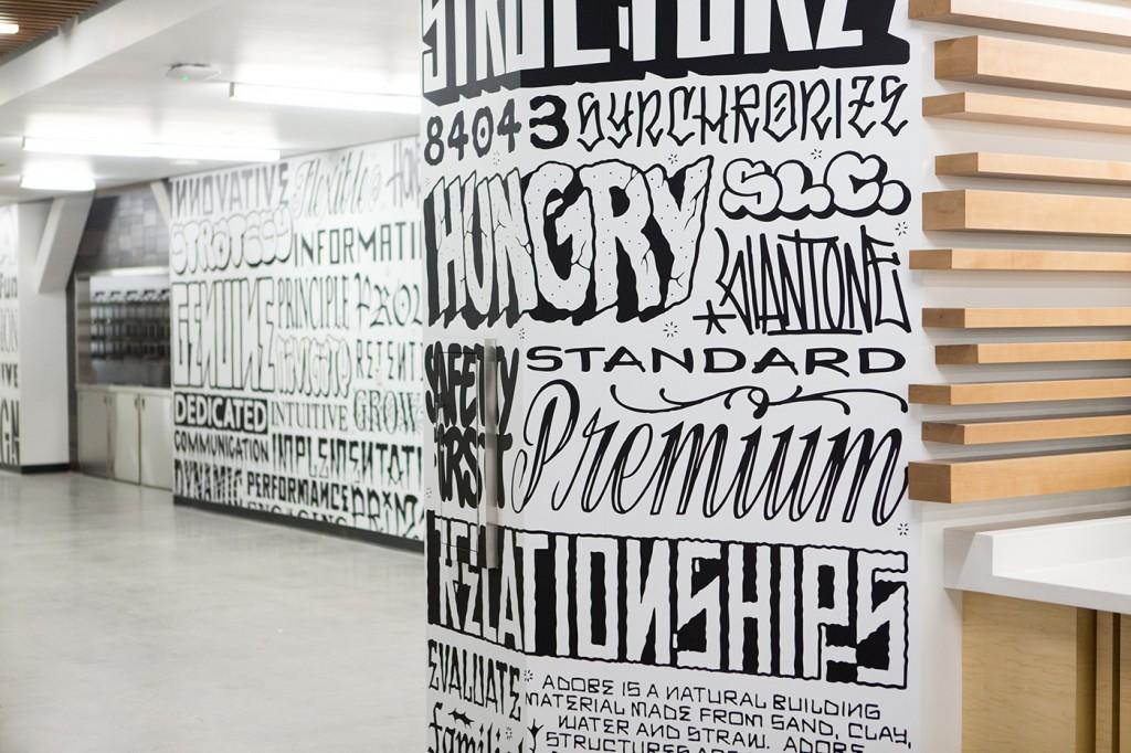 company wall graphics