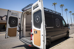company window van wrap