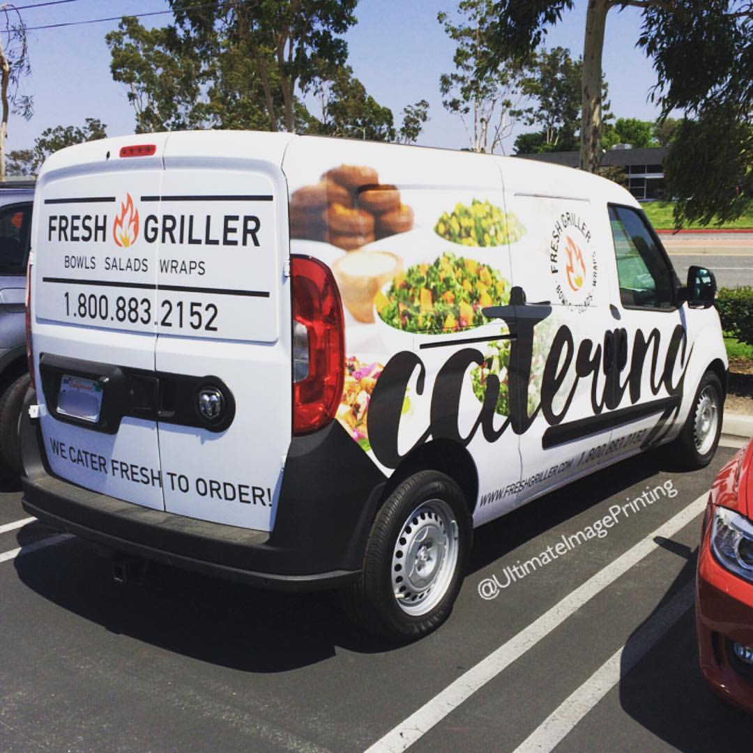 catering vehicle wrap