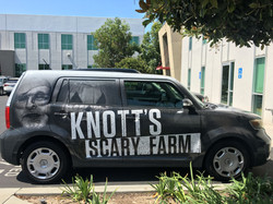 Knotts car wrap