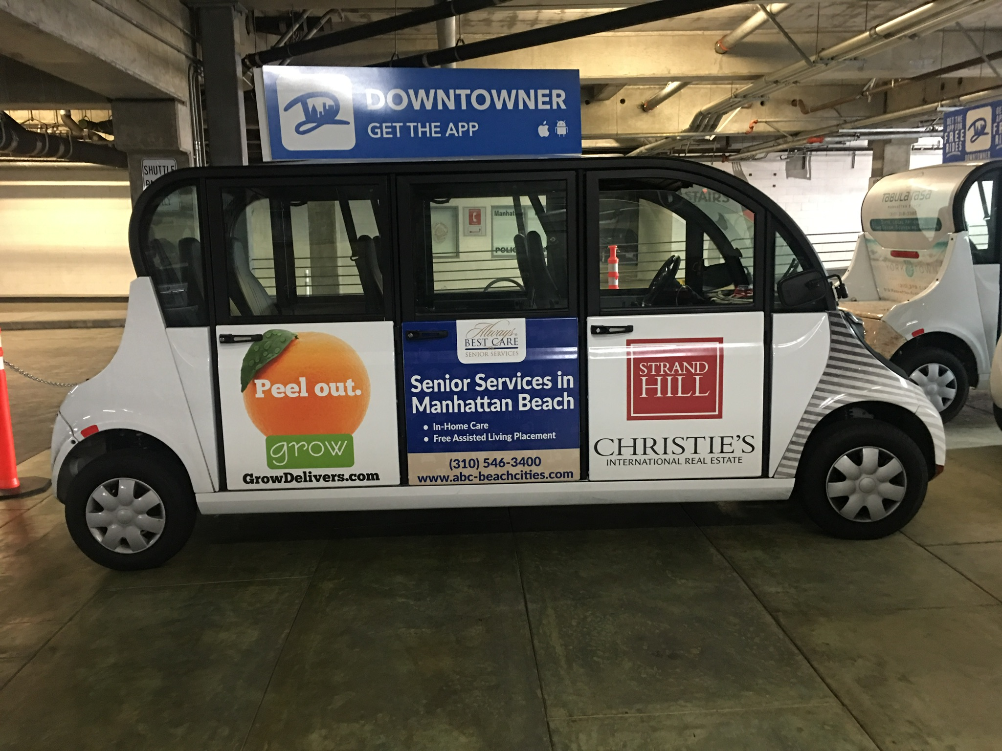 company vehicle car wrap