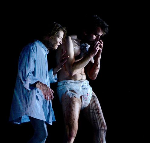 Glenda Jackson, Harry Melling - King Lear