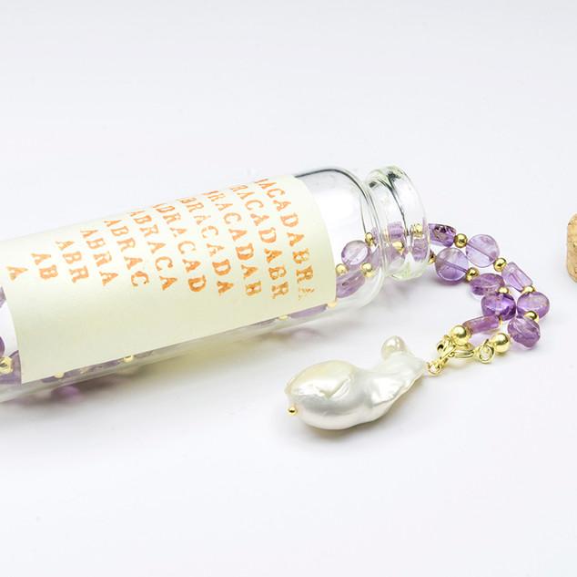 Amethist / Pendulum Pearl