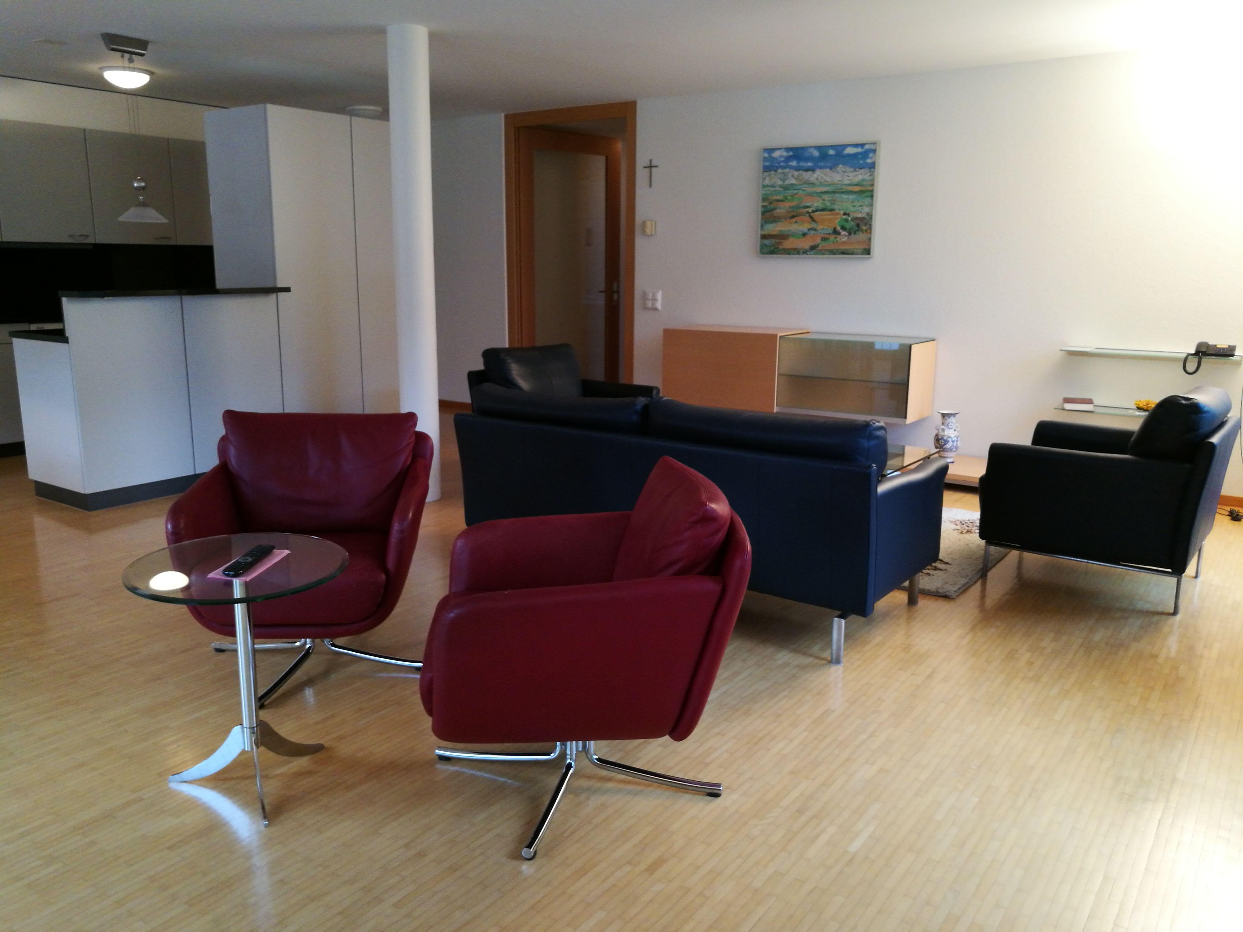 Appartement Ost Wohnzimmer/Küche