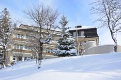 Westansicht Josefshaus mit Park