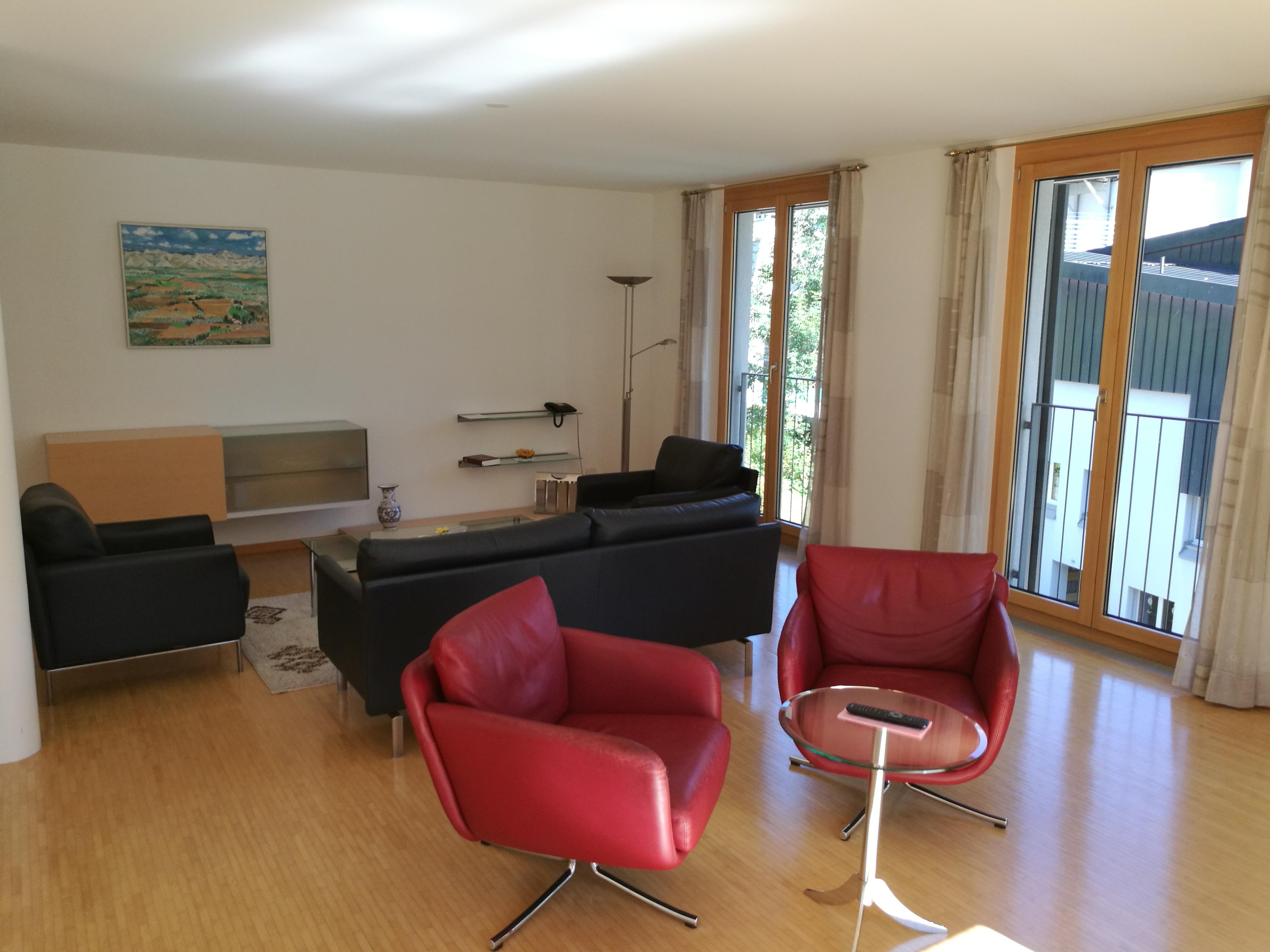 Appartement Ost Wohnzimmer