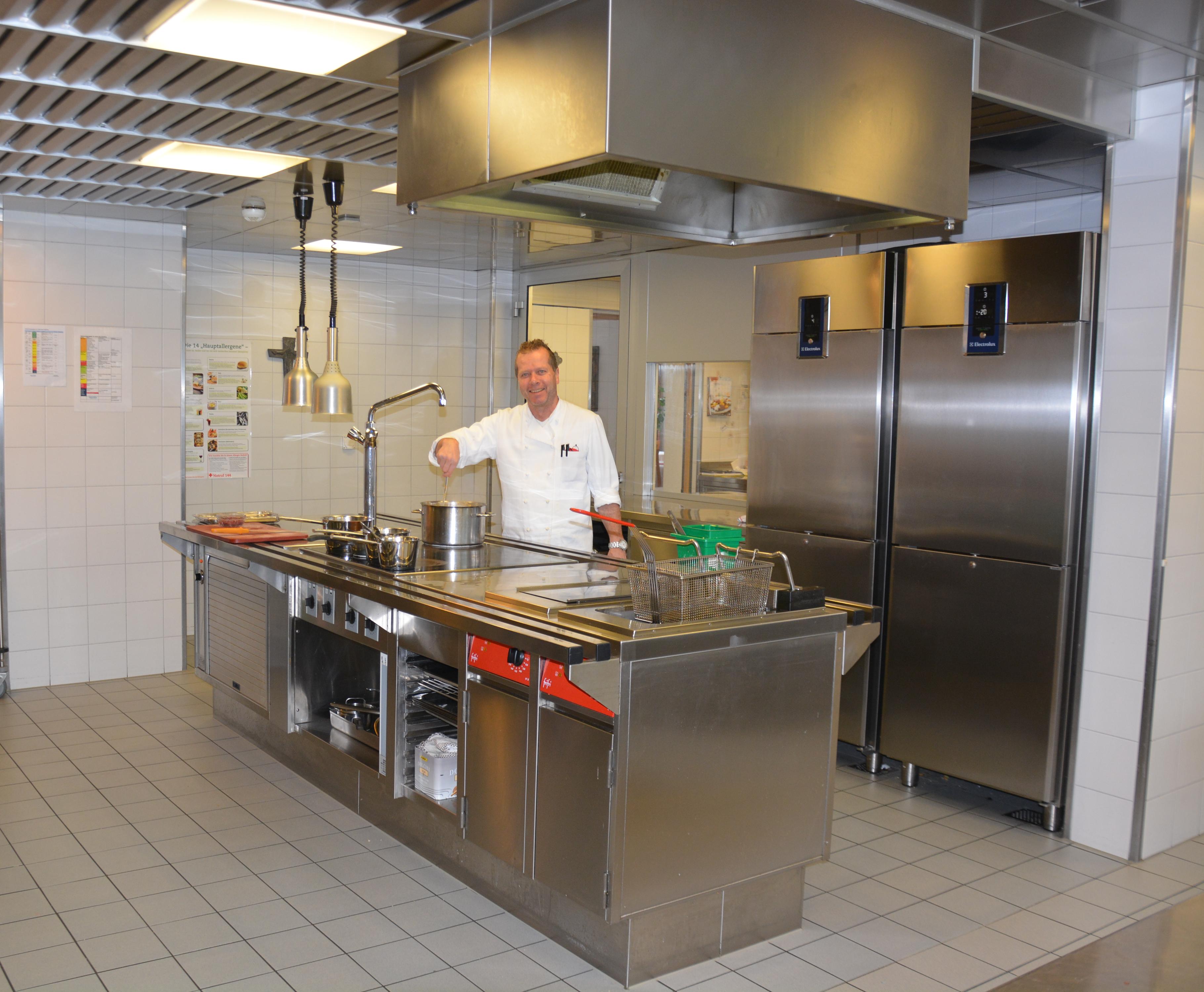 Küche Josefshaus Engelberg
