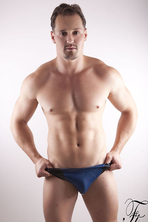 Contrast Latex Pouch Briefs