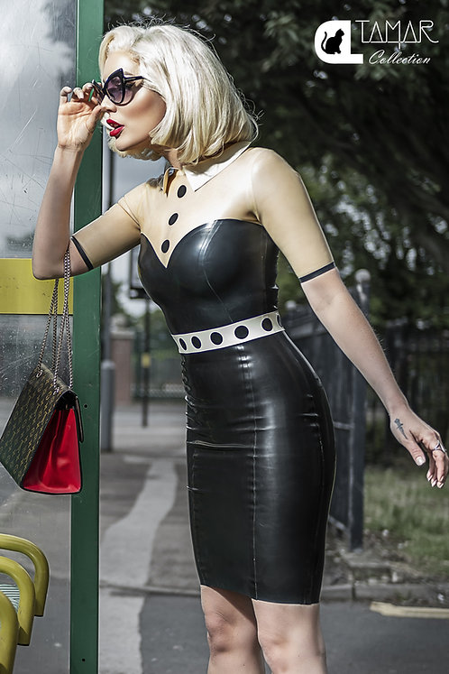 Latex 4th Street Sweetheart Dress