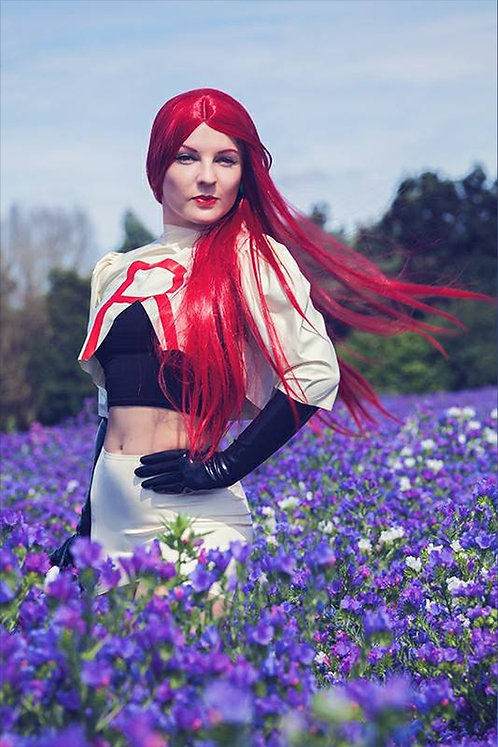 Latex Team Rocket Jessie inspired